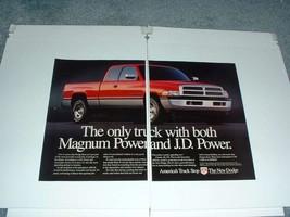 1996 Dodge Ram 1500 Pickup Truck Ad - Magnum Power - $14.99