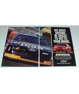 1994 Ford NASCAR Ad - Drive Around in Circles - $14.99