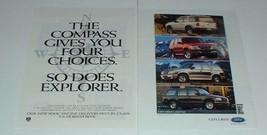 1996 Ford Explorer Sport, XLT, Eddie Bauer & Limited Ad - $14.99