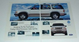 1995 Ford Explorer Ad - Creating a Better Environment Inside and Out - $14.99
