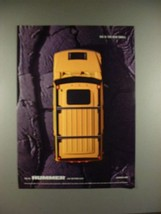 2004 Hummer H2 Ad - Big is the new Small - $14.99