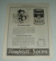 1921 Campbell's Tomato Soup Ad - Bounding Health - $14.99