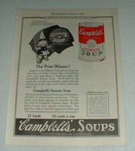 1922 Campbell's Tomato Soup Ad - The Prize Winner - $14.99