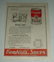 1923 Campbell's Tomato Soup Ad - Hire Us - $14.99