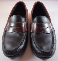 3e7b42fa82e Mens Sperry Top Sider Penny Loafer Black Leather Slip On Shoes size 10 M -   69.95
