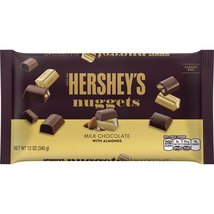 Hershey's Nuggets Milk Chocolate with Almonds Classic Bag, 12 oz  (Pack ... - $27.75