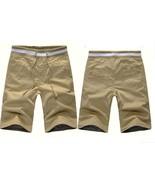 Men's casual pants in 5 minutes of pants cotton beach pants - $38.76