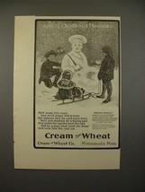 1900 Cream of Wheat Ad - Among Childhood Pleasures - $14.99
