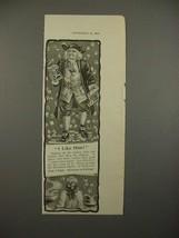 1900 Quaker Oats Cereal Ad - I like Him - $14.99