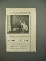 1913 Kodak Film Tank Ad - Every Step Easy - $14.99
