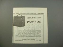 1913 Kodak Premo Jr. Camera Ad - Get Good Pictures - $14.99