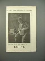 1913 Kodak Camera Ad - Call of The Open - $14.99