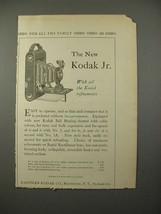 1914 Kodak Jr. Camera Ad - All the Refinements - $14.99