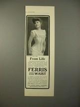 1903 Ferris Good Sense Waist Corset No. 220 Ad - $14.99