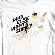 Samuri jack retro cartoon network white t shirt thumb200