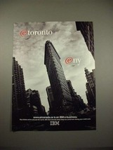 1998 IBM Computer E-Business Ad - AirCanada - $14.99