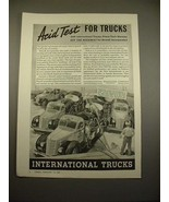 1938 International Harvester Pumper Truck Ad! - $14.99