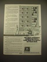 1982 IBM Bureau Service Computer Terminal Ad! - $14.99