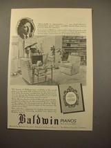 1939 Baldwin Grand Piano Ad - Josef Lhevinne - $14.99