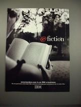 1998 IBM Computer E-Business Ad - Borders - $14.99