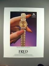 1987 Piaget Dancer Watch Ad! - $14.99