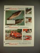 1948 Ford F-5 Truck Ad - Smart Idea! - $14.99