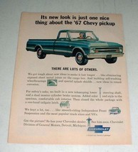 1967 Chevrolet Chevy Pickup Truck Ad - New Look - $14.99
