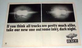 1967 GMC Truck Ad - Take Out Some Inky, Dark Night - $14.99