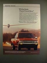 1990 Toyota Xtracab SR5 V6 Truck Ad - NICE! - $14.99
