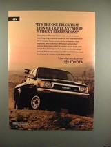 1991 Toyota 4WD Xtracab SR5 V6 Truck Ad! - $14.99
