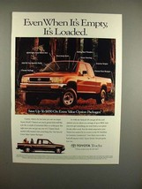 1993 Toyota Xtracab DX Truck Ad - It's Loaded! - $14.99