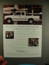 1995 Toyota T100 Xtracab Truck Ad - BIG! - $14.99