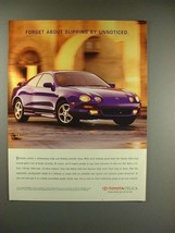 1996 Toyota Celica Car Ad - Forget Unnoticed! - $14.99