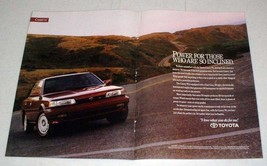 1990 Toyota Camry V6 Car Ad - Power for Those Inclined - $14.99