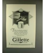 1923 Gillette Safety Razor Ad - Improved! - $14.99