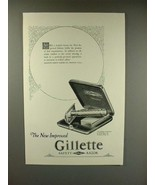 1925 Gillette Tuckaway Razor Ad - Improved - $14.99