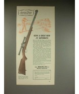 1961 Marlin .22 Automatic Model 99 Rifle Ad - $14.99