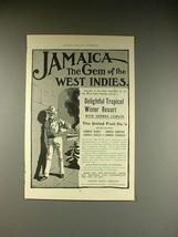1902 United Fruit Co. Steamship Line Ad - Jamaica - $14.99