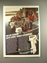 1979 Johnson 9.9 Outboard Motor Ad - Go Fishing - $14.99