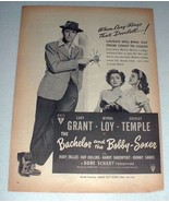 1947 The Bachelor & Bobby-Soxer Movie Ad - Cary Grant - $14.99