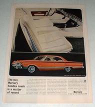 1964 Mercury Park Lane Car Ad w/ Racy Marauder Styling - $14.99