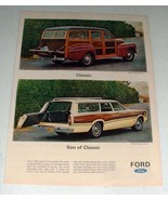 1966 Ford Country Squire Station Wagon Ad! - $14.99