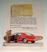 1966 Oldsmobile Cutlass Car Ad - Hardest Wear! - $14.99