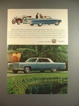 1966 Cadillac Car Ad - They Don't Build Sports Cars - $14.99