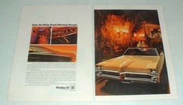 1967 Pontiac Bonneville Car Ad - Winning Streak - $14.99