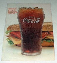 1966 Coke Coca-Cola Soda Ad - Never Get Tired Of - $14.99