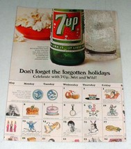 1967 7-Up Soda Ad - Don't Forget the Holidays - $14.99