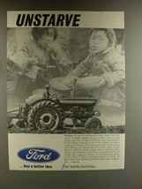 1967 Ford 5000 Tractor Ad - Unstarve! - $14.99