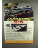 1988 Bayliner 1500 Capri Bowrider Boat Ad! - $14.99