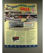 1989 Bayliner 1950 Capri Bowrider Boat Ad! - $14.99